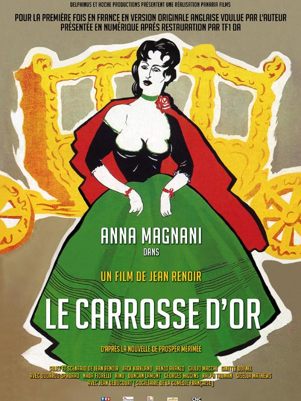 SEANCE RENCONTRE :  LE CARROSSE D'OR