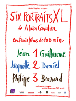 SEANCE RENCONTRE :  6 PORTRAITS XL D'ALAIN CAVALIER